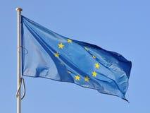μετάξι σημαιών της ΕΕ Στοκ εικόνες με δικαίωμα ελεύθερης χρήσης