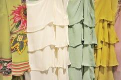 μετάξι φορεμάτων στοκ εικόνες
