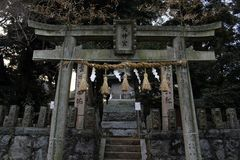 Μετάφραση: Η λάρνακα ` ` Uchino Oimatsu σε Iizuka, Φουκουόκα, Ιαπωνία Τόσο γαλήνιος όπως αυτό ` s μη πολύ τουριστκό καθόλου Λήφθε στοκ φωτογραφίες