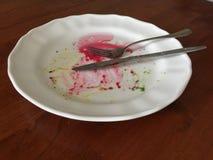 Μετά από ένα γεύμα Στοκ Εικόνες