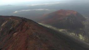 Μετά από την έκρηξη του ηφαιστείου Plosky Tolbachik Kamchatka φιλμ μικρού μήκους
