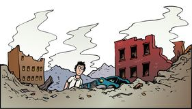 Μετά από την καταστροφή έπειτα τι ελεύθερη απεικόνιση δικαιώματος