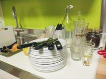 Μετά από την κουζίνα κομμάτων Στοκ φωτογραφία με δικαίωμα ελεύθερης χρήσης