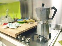 Μετά από την κουζίνα κομμάτων Στοκ εικόνες με δικαίωμα ελεύθερης χρήσης