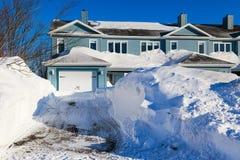 Μετά από τη θύελλα χιονιού Στοκ φωτογραφία με δικαίωμα ελεύθερης χρήσης