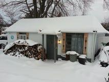 Μετά από τη θύελλα χιονιού Στοκ εικόνες με δικαίωμα ελεύθερης χρήσης