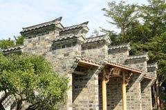 Μετά από τον τυφώνα, αναδημιουργήστε την κινεζική κλασσική αρχιτεκτονική yuanyuan Στοκ Φωτογραφία