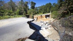 Μετά από τον τυφώνα Matthew Στοκ Εικόνες