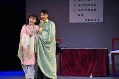 Μετά από το παλτό αναγεννημένος-Jiangxi OperaBlue πολιτισμικών επαναστάσεων Στοκ εικόνες με δικαίωμα ελεύθερης χρήσης