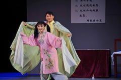 Μετά από το παλτό αναγεννημένος-Jiangxi OperaBlue πολιτισμικών επαναστάσεων στοκ φωτογραφίες με δικαίωμα ελεύθερης χρήσης