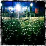 Μετά από το φεστιβάλ μουσικής Στοκ Φωτογραφίες
