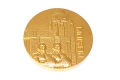 Μετάλλιο συμμετοχής παγκόσμιων πρωταθλημάτων αθλητισμού του Ελσίνκι 1983, αντιστροφή Kouvola, Φινλανδία 06 09 2016 στοκ εικόνες με δικαίωμα ελεύθερης χρήσης