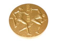 Μετάλλιο συμμετοχής παγκόσμιων πρωταθλημάτων αθλητισμού του Ελσίνκι 1983, obverse Kouvola, Φινλανδία 06 09 2016 στοκ εικόνες