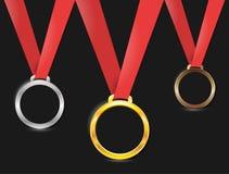 Μετάλλιο Στοκ Εικόνα