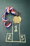 μετάλλιο Στοκ Εικόνες