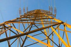 μετάδοση πύργων ισχύος Στοκ Φωτογραφίες