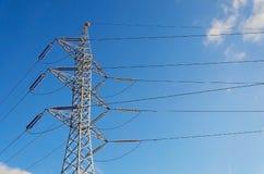 μετάδοση πύργων ισχύος Στοκ φωτογραφίες με δικαίωμα ελεύθερης χρήσης