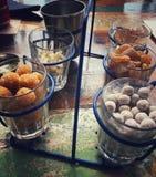 Μετά το μεσημεριανό γεύμα goodies Στοκ εικόνα με δικαίωμα ελεύθερης χρήσης