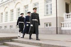 μεταβαλλόμενη φρουρά κανονική Στοκ Εικόνα