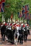 μεταβαλλόμενη φρουρά Λονδίνο Στοκ Εικόνες