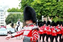 μεταβαλλόμενη φρουρά Στοκ Φωτογραφίες