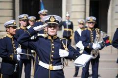 μεταβαλλόμενη φρουρά Στοκ φωτογραφία με δικαίωμα ελεύθερης χρήσης