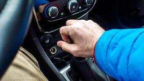Μεταβαλλόμενο εργαλείο αυτοκινήτων ` s με το χέρι με δεξή Στοκ Φωτογραφίες