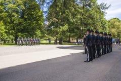 Μεταβαλλόμενες φρουρές Στοκ Φωτογραφία