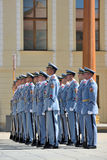 μεταβαλλόμενες φρουρέ&sigma Στοκ φωτογραφία με δικαίωμα ελεύθερης χρήσης