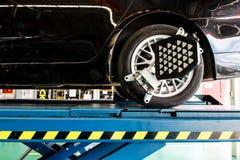 Μεταβαλλόμενη ρόδα αυτοκινήτων Στοκ Εικόνα