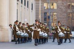 μεταβαλλόμενη φρουρά τε&la Στοκ εικόνα με δικαίωμα ελεύθερης χρήσης