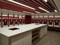 Μεταβαλλόμενο δωμάτιο LFC Στοκ Εικόνα
