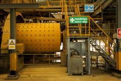 Μετακίνηση στο εργοστάσιο βιομηχανικό Στοκ φωτογραφία με δικαίωμα ελεύθερης χρήσης