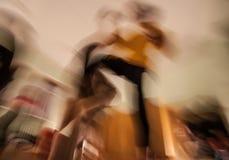 Μετακίνηση χορευτών Στοκ Εικόνα