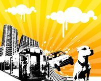 μετακίνηση 01 αστική Στοκ Εικόνες