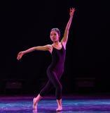 Μετακινήσεις dancer's και εκπαιδευτικά μαθήματα στάση-διάπλασης Στοκ Εικόνες