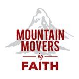Μετακινούμενοι βουνών από την πίστη Απεικόνιση αποθεμάτων