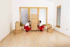 Μετακινούμενοι στο καινούργιο σπίτι Στοκ εικόνες με δικαίωμα ελεύθερης χρήσης
