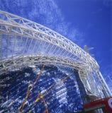 μεταλλική δομή Στοκ Φωτογραφίες