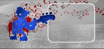 μεταλλική μουσική ανασ&kapp απεικόνιση αποθεμάτων