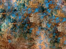Μεταλλική πολύχρωμη σύσταση Στοκ Εικόνες