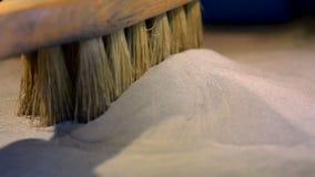 Μεταλλική σκόνη στη συμπυκνώνοντας μηχανή λέιζερ αιθουσών για το μέταλλο απόθεμα βίντεο