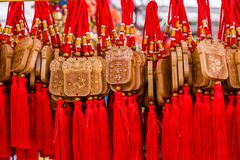 Μεταλλικός θόρυβος της Κίνας ` s ένας χειριστής στοκ φωτογραφίες με δικαίωμα ελεύθερης χρήσης