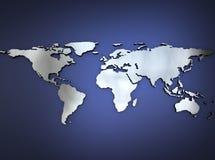 μεταλλικός κόσμος χαρτών ελεύθερη απεικόνιση δικαιώματος