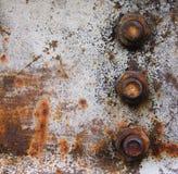 μεταλλικός σκουριασμένος ανασκόπησης Στοκ Εικόνα