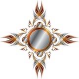 μεταλλικός συμμετρικός  διανυσματική απεικόνιση