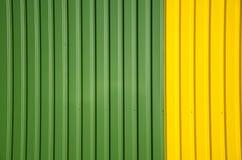 μεταλλικός χρωματισμένος τοίχος ανασκόπησης Στοκ φωτογραφία με δικαίωμα ελεύθερης χρήσης