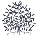 μεταλλικό δέντρο Στοκ Φωτογραφία