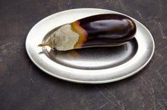 μεταλλικό πιάτο αποσύνθε Στοκ φωτογραφία με δικαίωμα ελεύθερης χρήσης