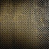 μεταλλικό πιάτο διαμαντιώ& Στοκ φωτογραφίες με δικαίωμα ελεύθερης χρήσης